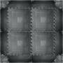 Podłoga gumowa puzzle inSPORTline 140x140x1,2cm | czarna,producent: Insportline, zdjecie photo: 1 | klubfitness.pl | sprzęt spor