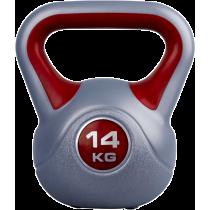Hantla winylowa kettlebell Insportline 14kg Insportline - 1 | klubfitness.pl