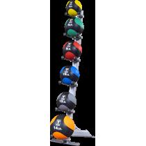 Stojak na piłki lekarskie Body-Solid GMR10 | 6 uchwytów,producent: Body-Solid, zdjecie photo: 2 | online shop klubfitness.pl | s