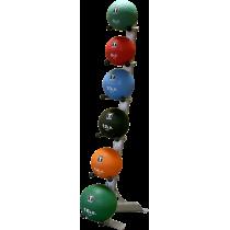 Stojak na piłki lekarskie Body-Solid GMR10 | 6 uchwytów,producent: Body-Solid, zdjecie photo: 4 | online shop klubfitness.pl | s