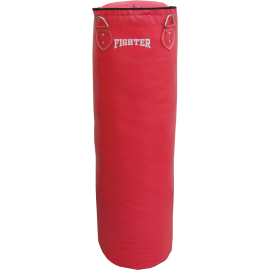 Worek treningowy 120x35cm Fighter Vinyl Red | wypełniony,producent: FIGHTER, zdjecie photo: 1 | online shop klubfitness.pl | spr