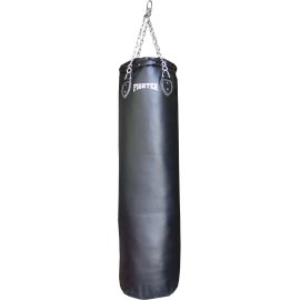Worek treningowy 120x35cm Fighter PU Black | wypełniony,producent: FIGHTER, zdjecie photo: 1 | online shop klubfitness.pl | sprz