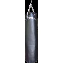 Worek treningowy 120x35cm Fighter PU Black | wypełniony,producent: FIGHTER, zdjecie photo: 1 | online shop klubfitness.pl | sprz