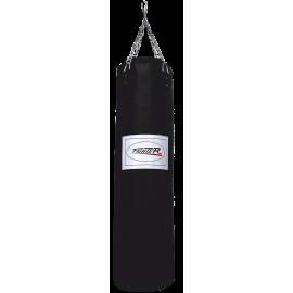 Worek treningowy 150x35cm Fighter Vinyl Black | wypełniony FIGHTER - 1 | klubfitness.pl