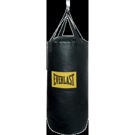 Worek treningowy 108x35cm Everlast PU 4007 | czarny | wypełniony Everlast - 1 | klubfitness.pl | sprzęt sportowy sport equipment
