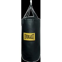 Worek treningowy 108x35cm Everlast PU 4007   czarny   wypełniony Everlast - 1   klubfitness.pl