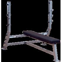 Ławka pod sztangę Body-Solid SFB349G | olimpijska pozioma BodySolid - 1 | klubfitness.pl