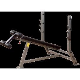 Ławka pod sztangę Body-Solid SDB351G | olimpijska | negatywna Body-Solid - 1 | klubfitness.pl | sprzęt sportowy sport equipment