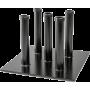 Stojak na gryfy ø30mm Ironsports R-3012 | 5 uchwytów,producent: IRONSPORTS, zdjecie photo: 1 | online shop klubfitness.pl | sprz