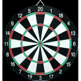 Tarcza dart na ostre rzutki | dwustronna | średnica 41cm,producent: NONAME, zdjecie photo: 1 | online shop klubfitness.pl | sprz