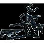 Atlas wielofunkcyjny na wolne obciążenia Powertec WB-MS14-B | czarny,producent: Powertec, zdjecie photo: 1 | online shop klubfit