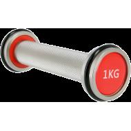 Hantla chromowana stała HMS Premium HH | 1kg - 10kg HMS - 3 | klubfitness.pl | sprzęt sportowy sport equipment