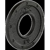 Obciążenie żeliwne olimpijskie ATX® 50-GXA | waga: 0,5kg ÷ 25kg ATX® - 11 | klubfitness.pl