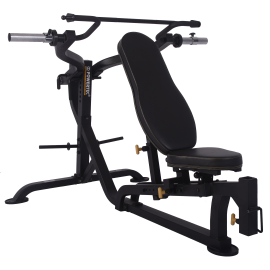 Ławka treningowa izolowane ramiona Powertec WB-MP16 | wolne obciążenia Powertec - 1 | klubfitness.pl | sprzęt sportowy sport equ