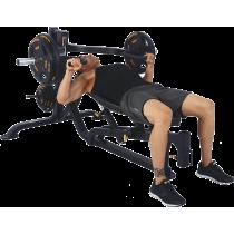 Ławka treningowa izolowane ramiona Powertec WB-MP16   wolne obciążenia,producent: Powertec, zdjecie photo: 6   online shop klubf