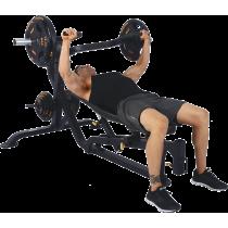 Ławka treningowa izolowane ramiona Powertec WB-MP16   wolne obciążenia,producent: Powertec, zdjecie photo: 7   online shop klubf