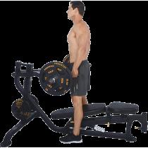 Ławka treningowa izolowane ramiona Powertec WB-MP16   wolne obciążenia,producent: Powertec, zdjecie photo: 10   online shop klub