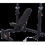 Ławka treningowa pod sztangę Powertec WB-OB16 | olimpijska Powertec - 1 | klubfitness.pl | sprzęt sportowy sport equipment