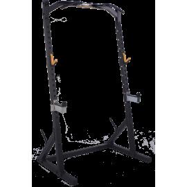 Brama half rack Powertec WB-HR Black | podpory bezpieczeństwa | drążek,producent: Powertec, zdjecie photo: 1 | klubfitness.pl |
