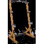 Brama half rack Powertec WB-HR Yellow | podpory bezpieczeństwa | drążek Powertec - 1 | klubfitness.pl | sprzęt sportowy sport eq