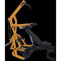 Atlas wielofunkcyjny Powertec WB-LS16-YY Levergym | izolowane ramiona,producent: Powertec, zdjecie photo: 2 | online shop klubfi