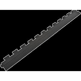 Podłoga gumowa Gymfloor® GF-PM-17-E | 100x10cm | krawędź ze skosem Gym-Floor - 1 | klubfitness.pl