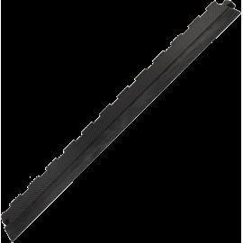Podłoga gumowa Gymfloor® GF-PM-B20-E | 100x10cm | krawędź ze skosem Gym-Floor - 1 | klubfitness.pl