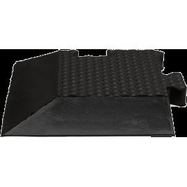 Podłoga gumowa Gymfloor® GF-PM-B20-C | 100x85mm | narożnik ze skosem Gym-Floor - 1 | klubfitness.pl