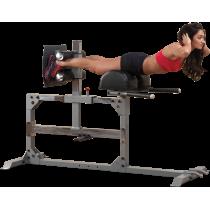 Stanowisko mięśnie grzbietu SGH500 Body-Solid Glute Ham Trainer BodySolid - 1   klubfitness.pl