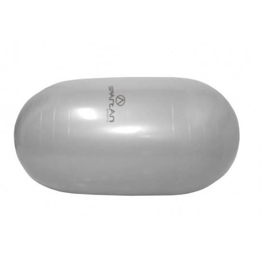 Piłka gimnastyczna gładka owalna 100 x 50 cm SPARTAN SPORT szara,producent: SPARTAN SPORT, photo: 1