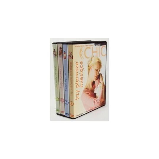 Ćwiczenia instruktażowe DVD Ciąża Dla Opornych kolekcja 4 płyt,producent: MayFly, zdjecie photo: 1   online shop klubfitness.pl