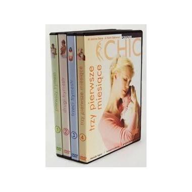 Ćwiczenia instruktażowe DVD Ciąża Dla Opornych kolekcja 4 płyt,producent: MayFly, photo: 1