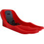 Sanki bobslejowe dla dzieci Bambi Bob czerwone | oparcie | szelki,producent: NONAME, zdjecie photo: 1 | klubfitness.pl | sprzęt