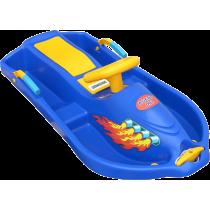 Skuter śnieżny z kierownicą dla dzieci Snow Boat niebieski NONAME - 1 | klubfitness.pl | sprzęt sportowy sport equipment