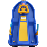 Skuter śnieżny z kierownicą dla dzieci Snow Boat niebieski NONAME - 2 | klubfitness.pl | sprzęt sportowy sport equipment