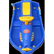Skuter śnieżny z kierownicą dla dzieci Snow Boat niebieski NONAME - 3 | klubfitness.pl | sprzęt sportowy sport equipment