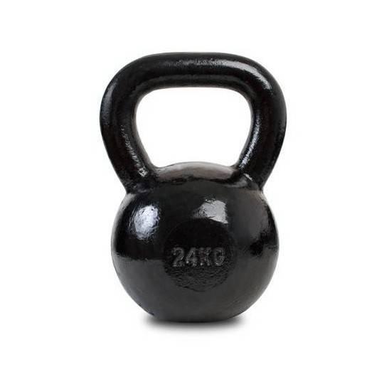 Hantla żeliwna SPARTAN KETTLEBELL 24kg czarna,producent: SPARTAN SPORT, zdjecie photo: 1 | klubfitness.pl | sprzęt sportowy spor