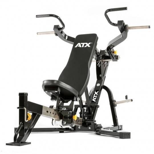 Ławka treningowa izolowane ramiona ATX® LMP-650 | wolne obciążenia,producent: ATX, zdjecie photo: 1 | klubfitness.pl | sprzęt sp