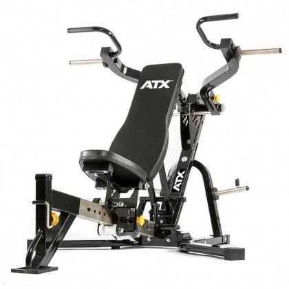 Ławka treningowa izolowane ramiona ATX® LMP-650 | wolne obciążenia ATX® - 10 | klubfitness.pl