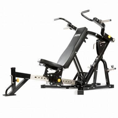 Ławka treningowa izolowane ramiona ATX® LMP-650 | wolne obciążenia ATX® - 11 | klubfitness.pl