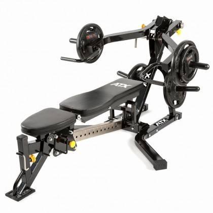 Ławka treningowa izolowane ramiona ATX® LMP-650 | wolne obciążenia ATX® - 13 | klubfitness.pl