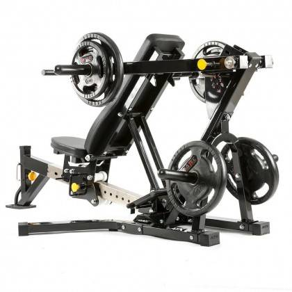 Ławka treningowa izolowane ramiona ATX® LMP-650 | wolne obciążenia ATX® - 15 | klubfitness.pl