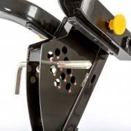 Ławka treningowa izolowane ramiona ATX® LMP-650 | wolne obciążenia ATX® - 16 | klubfitness.pl