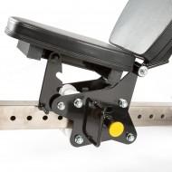 Ławka treningowa izolowane ramiona ATX® LMP-650 | wolne obciążenia ATX® - 17 | klubfitness.pl
