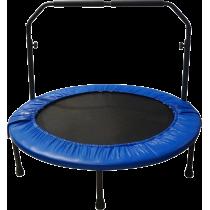 Trampolina sportowa z uchwytem Spartan Sport | średnica 122cm | niebieska,producent: SPARTAN SPORT, zdjecie photo: 2 | klubfitne