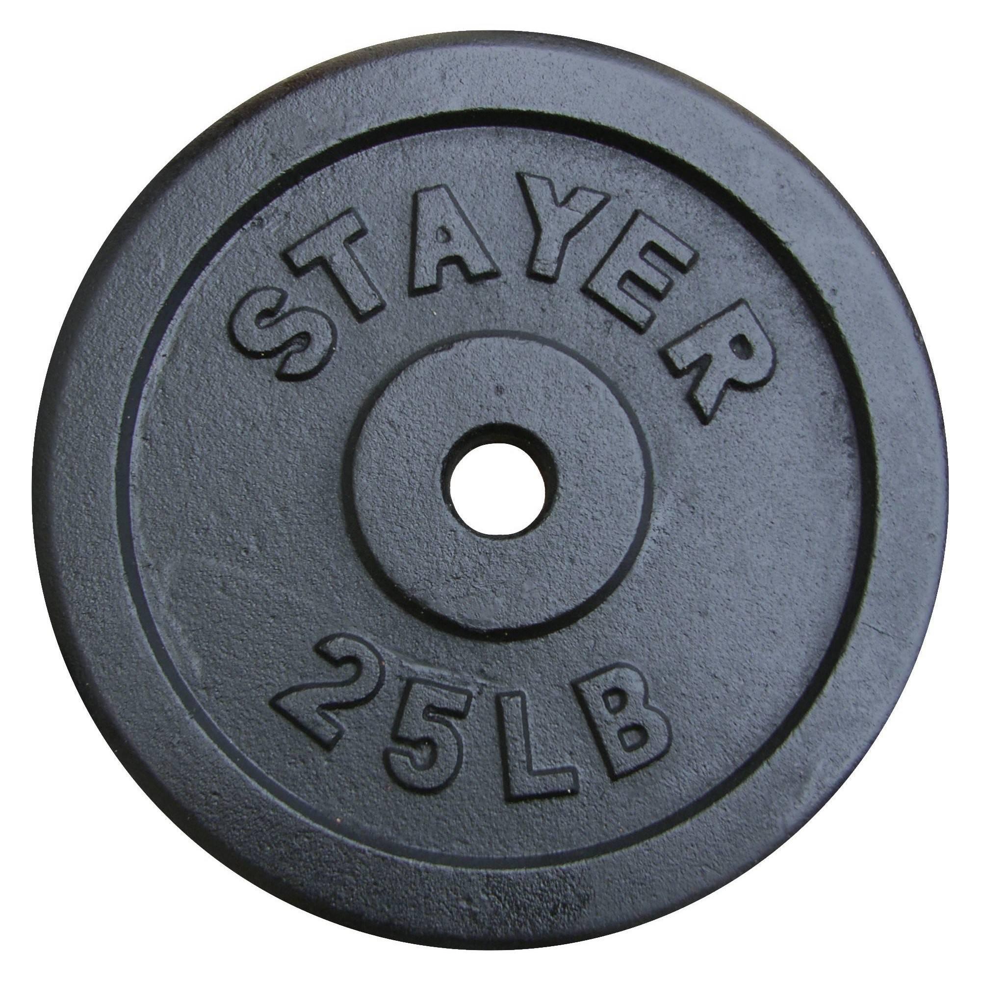 Obciążenie żeliwne 25lb STAYER SPORT średnica 29 mm,producent: STAYER SPORT, photo: 1