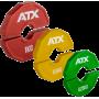 Obciążenia gumowane flex ATX® AD-RFCP | waga: 0,25kg ÷ 1,0kg ATX® - 1 | klubfitness.pl