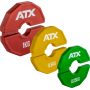 Obciążenia gumowane flex ATX® AD-RFCP | waga: 0,25kg ÷ 1,0kg,producent: ATX, zdjecie photo: 1 | klubfitness.pl | sprzęt sportowy