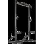 Brama treningowa z podporami ATX® HRX-660 | Half Rack ATX® - 5 | klubfitness.pl