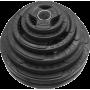 Zestaw obciążeń olimpijskich  gumowanych Stayer Sport NRB160 | waga 160kg Stayer Sport - 1 | klubfitness.pl